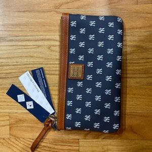 New York Yankee Dooney & Bourke Wristlet Wallet